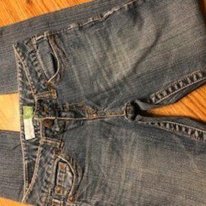 Aeropostale Bayla skinny jeans sz 1/2 short